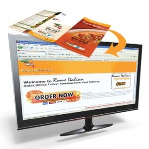 sell pizza online